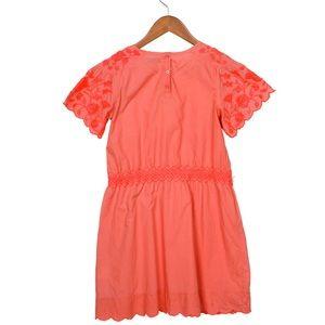 STELLA MCCARTNEY Girls' Embroidered A-Line Dress